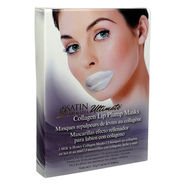 Satin Smooth Ultimate Lip Plump Collagen Mask Reviews 2019