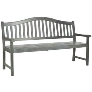 Safavieh Outdoor Mischa Brown Bench