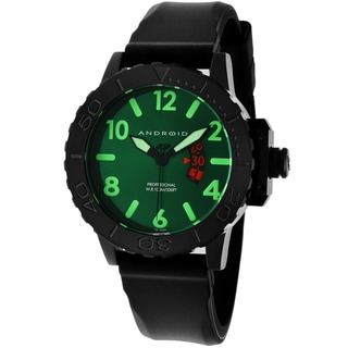 Android Men's 'Divemaster Trans 50' Green/ Black Watch