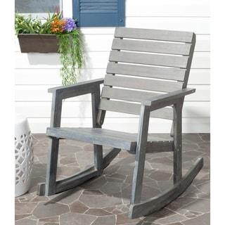 Safavieh Outdoor Alexei Grey Rocking Chair