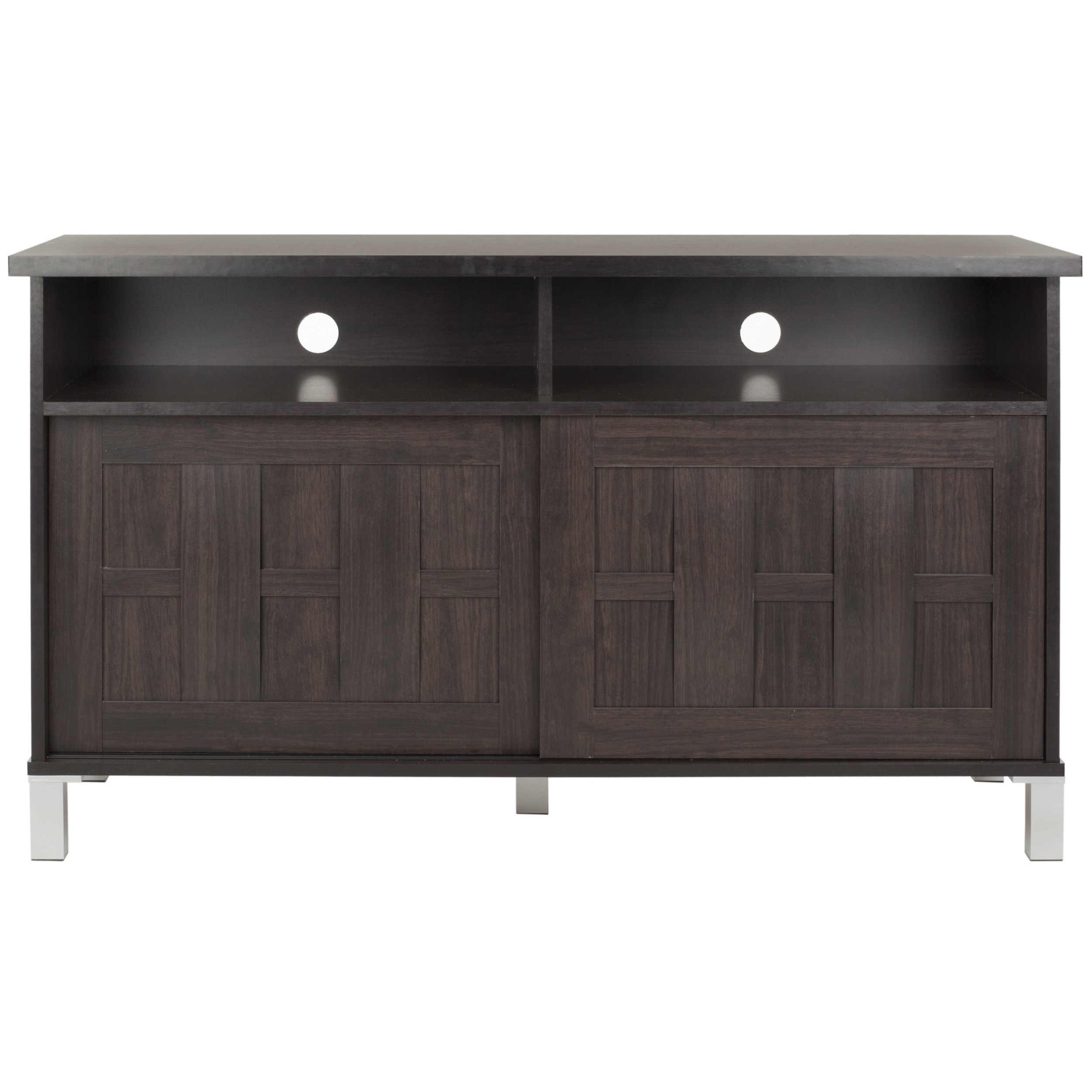 Safavieh Gable Dark Brown 2-Door TV Cabinet at Sears.com