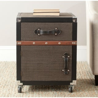 Safavieh Joel Brown Rolling Console Chest