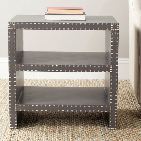 Safavieh Lacey Grey Side Table