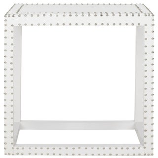 Safavieh Lena White End Table