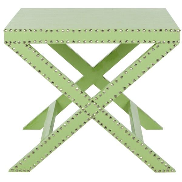 Safavieh Jeanine Light Green X Bench
