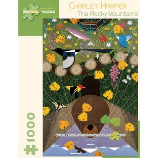 Charley Harper The Rocky Mountains 1000-piece Puzzle
