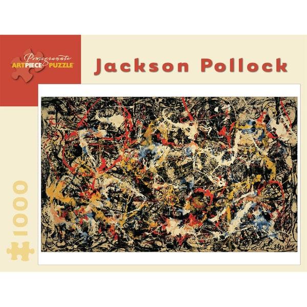Jackson Pollock Convergence 1000-piece Puzzle