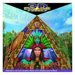 Mayan Stairway to the Sun 3D Pyramid Puzzle