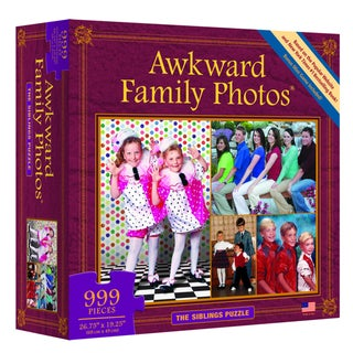 Awkward Family Photos The Siblings 999-piece Puzzle