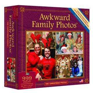 Awkward Family Photos The Christmas 999-piece Puzzle