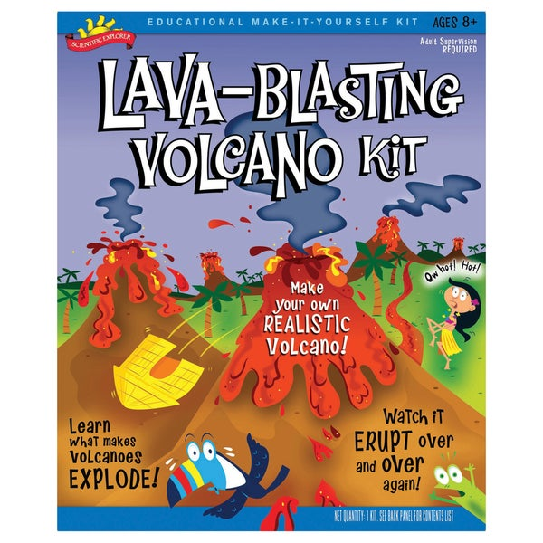 Scientific Explorer Lava-Blasting Volcano Kit