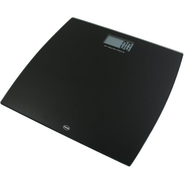 American Weigh Scales Black Digital Glass Scale