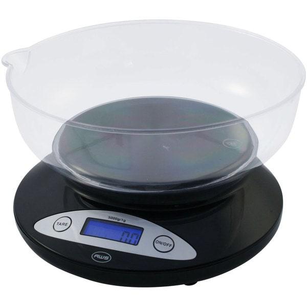 Black Bowl Kitchen Scale