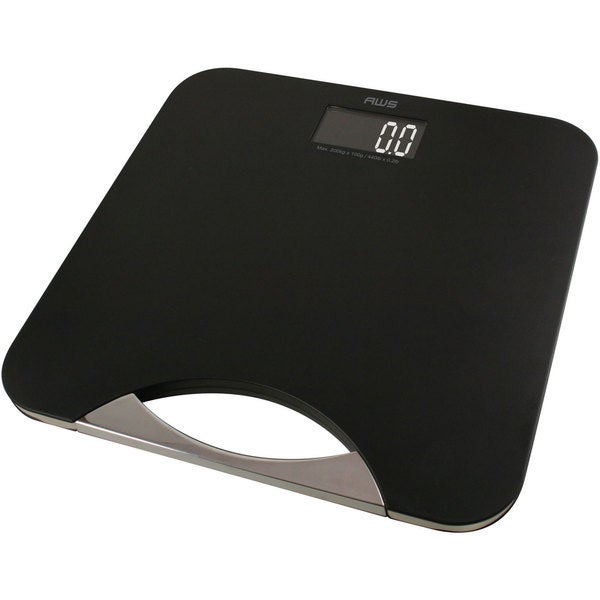 American Weigh Scales Black Digital Scale Large