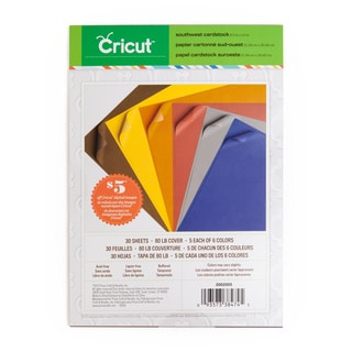 Cricut Southwest 8.5-inch x12-inch Cardstock (Pack of 3)