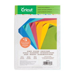 Cricut Candy Shop 8.5-inch x12-inch Cardstock (Pack of 3)