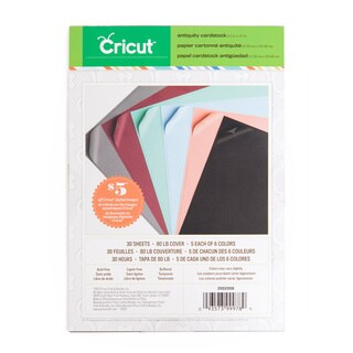 Cricut Antiquity 8.5-inch x12-inch Cardstock (Pack of 3)