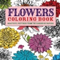 Flowers Coloring Book: Beautiful Pictures from the Garden of Nature (Paperback)