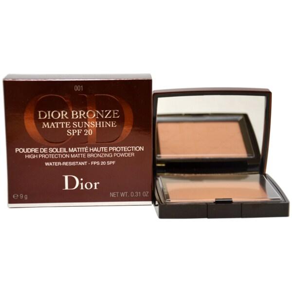 Dior Matte Sunshine Bronzing Powder