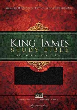 Holy Bible: King James Version, Study Bible, Black Bonded Leather (Paperback)