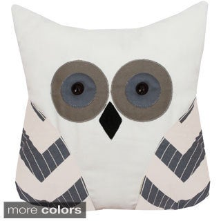 Tootsie Owl Shaped 12 x 14-inch Pillow