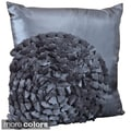 Flower 17-inch Decorative Throw Pillow