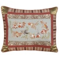 Imperial Goldfish Needlepoint Decorative Pillow