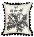 Celandine Needlepoint Decorative Throw Pillow