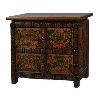 Tibetan Style Tea Cabinet
