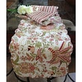 'Flowers in Paradise' Quilted Cotton Table Runner