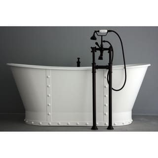 'The Charterhouse' from Penhaglion 68-inch Cast Iron French Bateau Bathtub