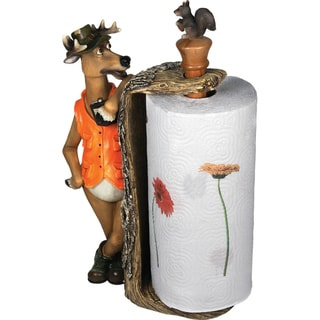 River's Edge Products Deer Paper Towel Holder
