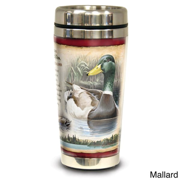 American Expedition Wildlife 16-Ounce Steel Travel Mug