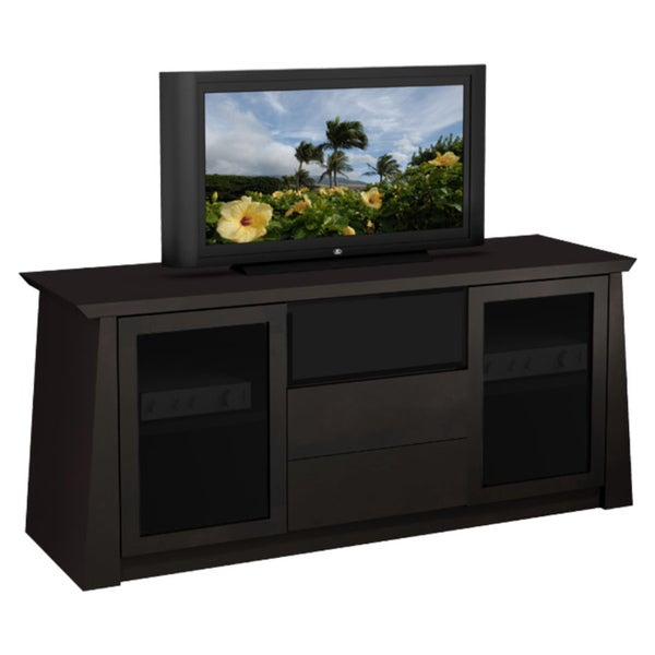 furnitech asian inspired 70 inch tv console overstock shopping great deals on furnitech. Black Bedroom Furniture Sets. Home Design Ideas