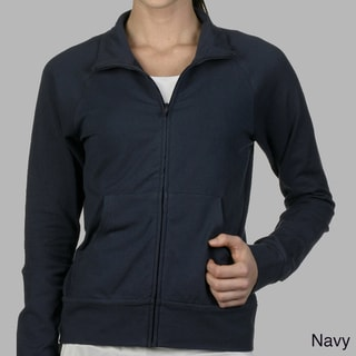 Bella Cotton Cadet Zip-Up Jacket