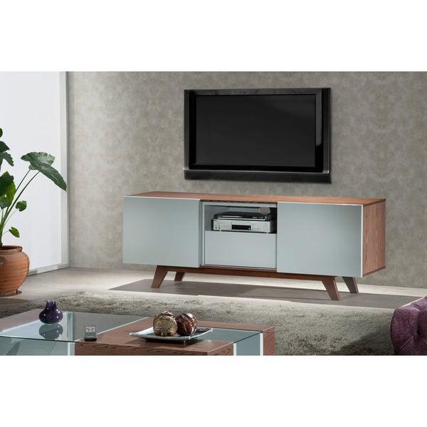 modern 70 inch tv stand media console overstock shopping great deals on furnitech. Black Bedroom Furniture Sets. Home Design Ideas