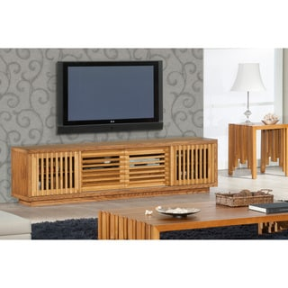 Contemporary Rustic TV Stand Media Console