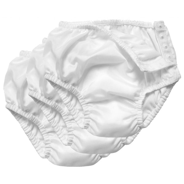 iPlay Ultimate White Absorbent Swim Diaper (Pack of 3)