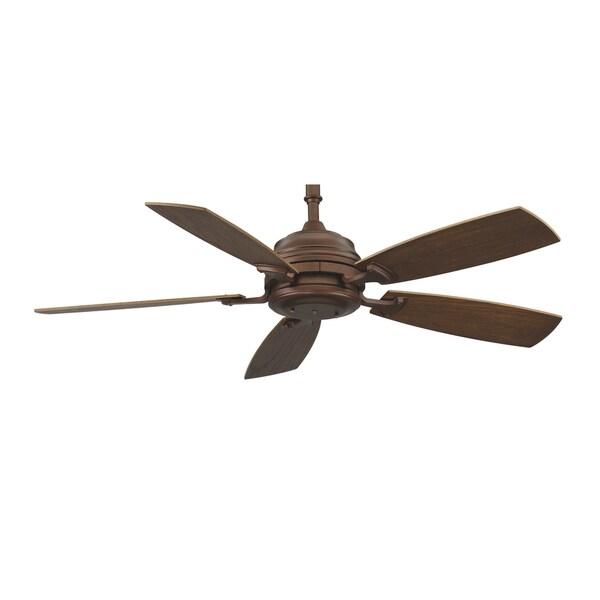 Fanimation Hubbardton 54-inch Mahogany Ceiling Fan