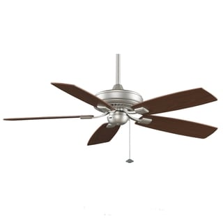 Fanimation Edgewood Decorative 52-inch Satin Nickel Ceiling Fan
