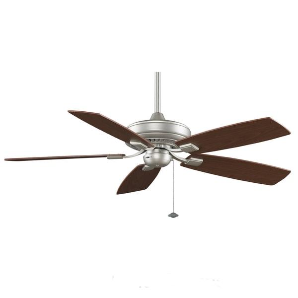 Fanimation Edgewood Decorative 52-inch Satin Nickel Ceiling Fan