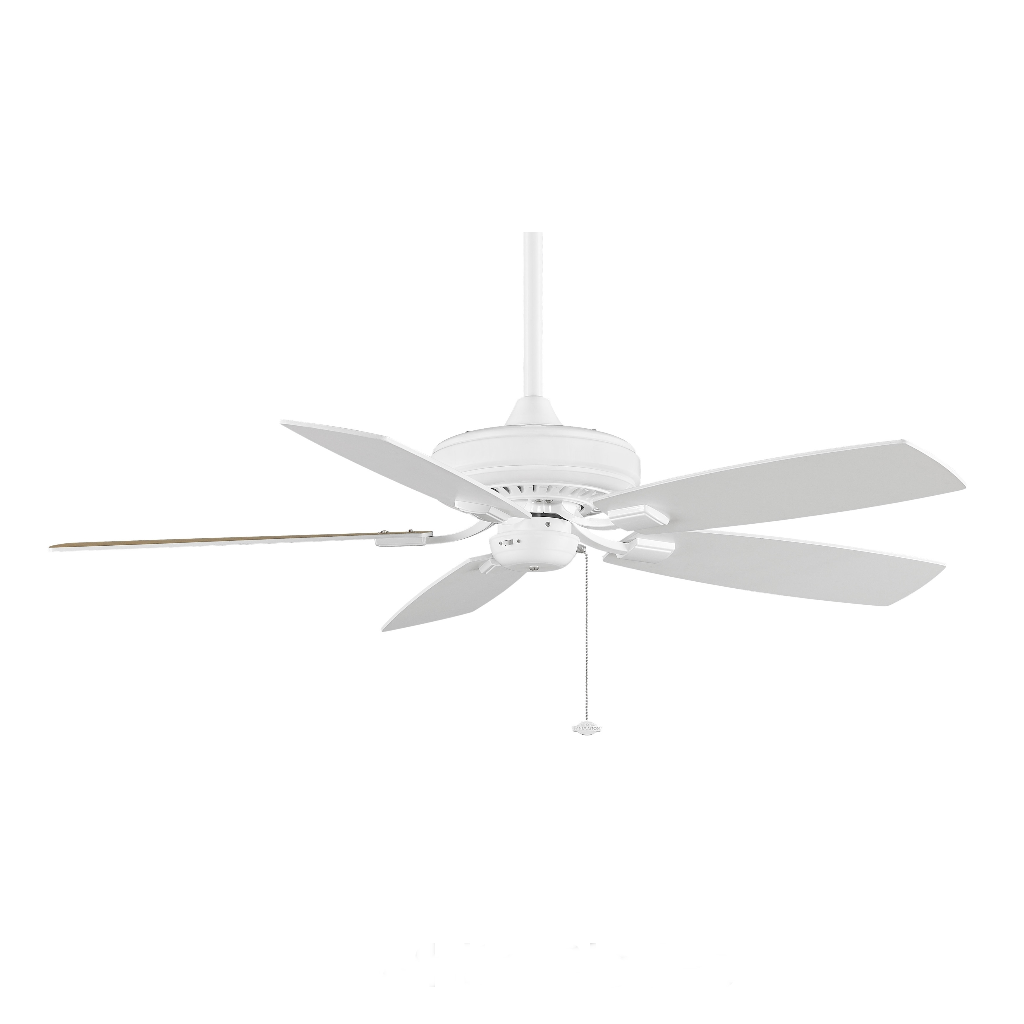 Fanimation Edgewood Decorative 52-inch White Ceiling Fan at Sears.com