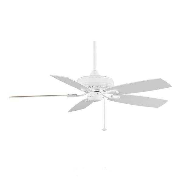 Fanimation Edgewood Decorative 52-inch White Ceiling Fan