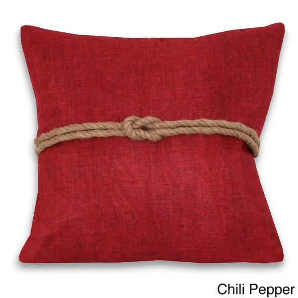 Greg Rope 18x18-inch Decorative Throw Pillow
