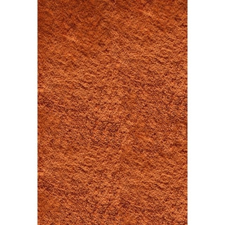 Hand-tufted Posh Orange Shag Rug (5&#39; x 7&#39;)