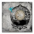 Working Girl Design 'Round Bird Cage' Canvas Art