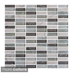 Emrytile Bliss 12x12-inch Glass Wall Tile Sheets (Case of 10)