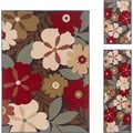 Lagoon Multi 3-Piece Polypropylene Area Rug Set
