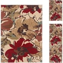 Lagoon Beige 3-piece Area Rug Set