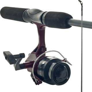 Gone Fishing Worm Gear Rod/ Spincast Reel Combo